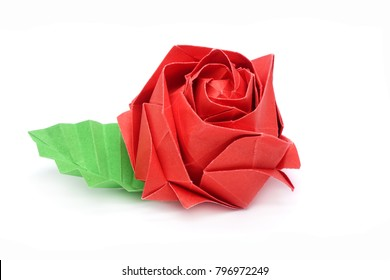 Origami Kawasaki Roses | Gilad's Origami Page | 280x390