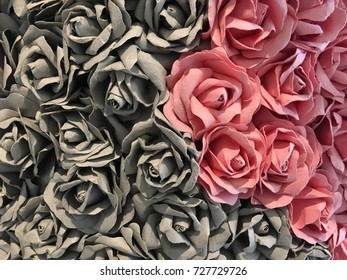 Rose Paper Background