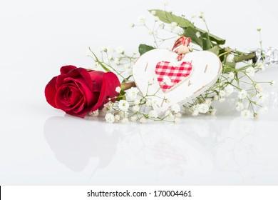 rose for valentine