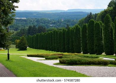 Rose valley (Dolina roz) in Kislovodsk
