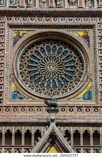 Rose Window of the Cathedral of Orvieto