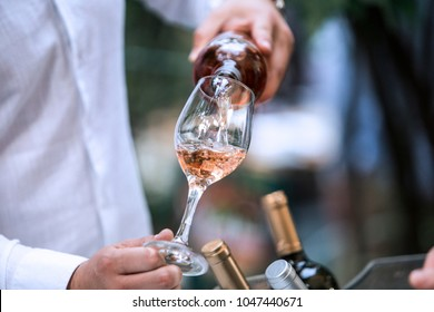 Rose Wine Glass - wineyard