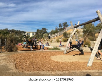 Rosebud/Australia - May 22 th 2019:Sunday afternoon at the park