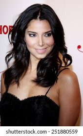 Roselyn Sanchez arrives to the opening of Beso Restaurant held at the Beso in Hollywood, California, United States on March 6, 2008.