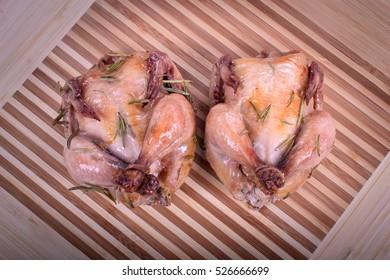 Rosemary Cornish Hen ( Chicken, Chick )