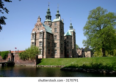 Rosenborg Castle is a small castle situated at the centre of the Danish capital, Copenhagen. The castle was originally built as a country summerhouse in 1606 .