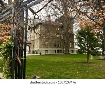 Rosengarten music school in horgen in Switzerland - Shutterstock ID 1387137476