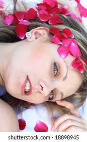 In roses
