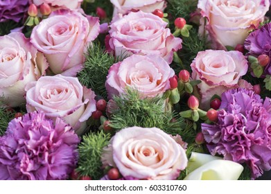 Roses and carnation