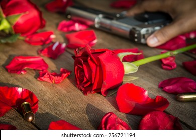 Roses for lost love