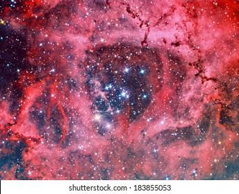 Rosette nebula in Monoceros NGC2244
