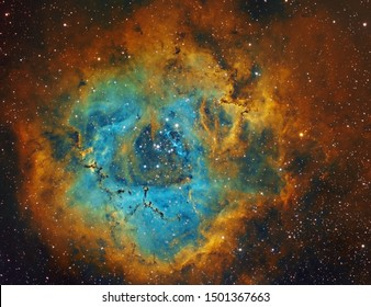 Rosette Nebula in Unicorn constellation, NGC2237