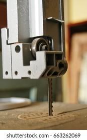 Rosette saw in Workshop