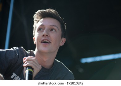 ROSEVILLE, CA - May 11: Myles Parrish of Kalin and Myles performs in support of 107.9's EndFest  at Placer County Fairgrounds in Roseville, California on May 11, 2014