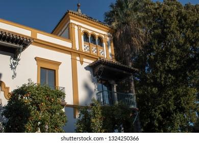 Rosina balcony Murillo park Seville Spain