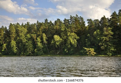 Rospuda lake near Augustow. Poland