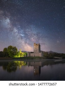 Ross Castle is a 15th-century tower house and keep on the edge of Lough Leane, in Killarney National Park, County Kerry, Ireland. It is the ancestral home of the O'Donoghue clan, later associated with