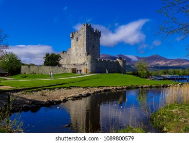 Ross Castle on a beautiful day - Killarney National Park