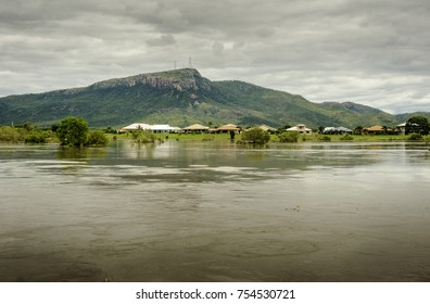 Ross River in flood, Townsville, Queensland, Australia