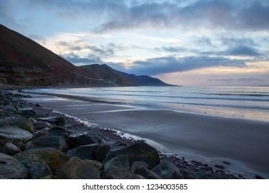Rossbeigh sunset in Ireland