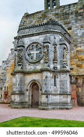 Rosslyn Chapel (Collegiate Chapel of St Matthew), found by by William Sinclair.