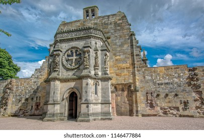 Rosslyn Chapel Entrance