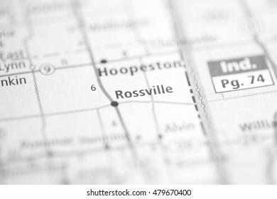 Rossville. Illinois. USA