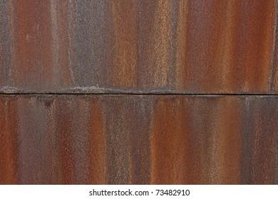 rostige Eisenplatte