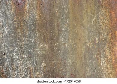 Rostige Wand
