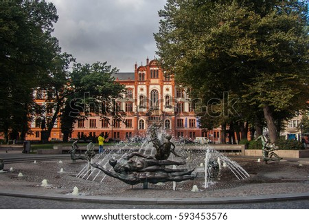 Rostock University main building