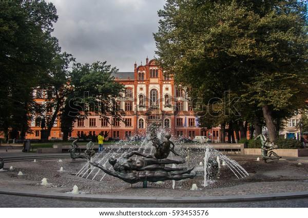 Rostock University main building