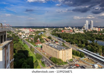 Rostokino District is administrative raion of Moscow, Russia – 2017. It is located on both banks of Yauza River and borders with Yaroslavsky, Sviblovo and Ostankinsky District. Moscow Central Circle