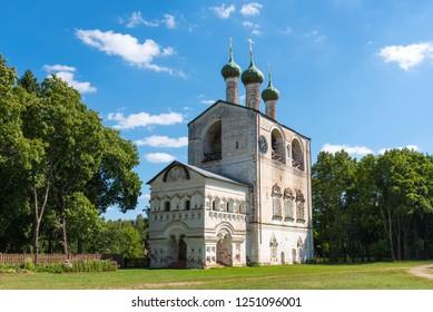 Rostov Borisoglebsky Monastery. Rostov Boris and Gleb Male Orthodox Monastery. Golden ring of Russia. Yaroslavl Region