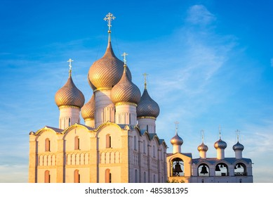 Rostov kremlin, Assumption cathedral, Golden Ring, Russia