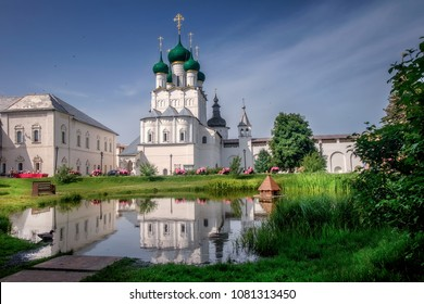 Rostov Kremlin. The Golden Ring of Russia. Rostov the Great.