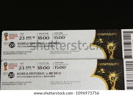 tickets rostov