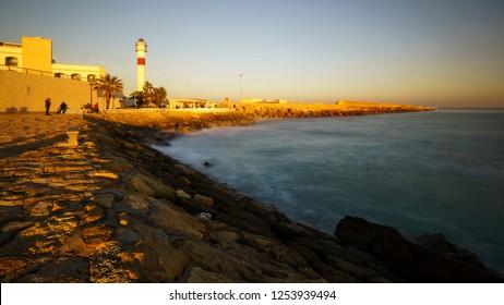 Rota Lighthouse Cadiz Spain