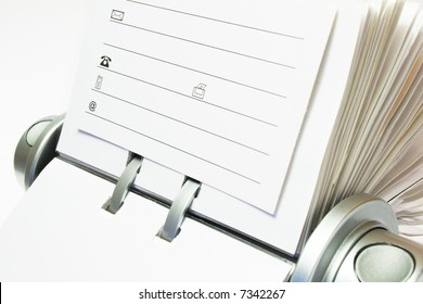 Rotary Card File