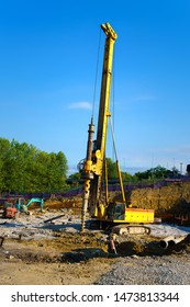 rotary drilling rig machine for construction