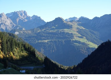 Rote Wand in the Lechquellgebirge