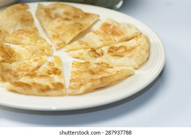 Rotee on a white plate