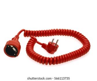 Rotes Stromkabel, Verlängerungskabel