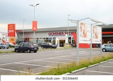 Rothenburg, Switzerland - 23 july 2014: Walige mall at Rothenburg on Switzerland
