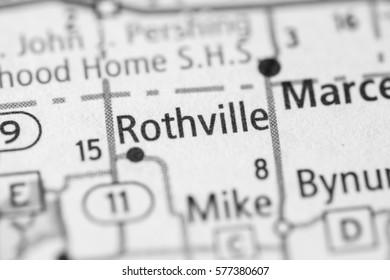 Rothville. Missouri. USA