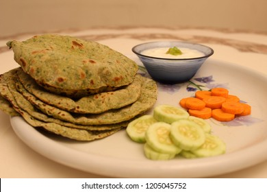 Roti Phulkas are popular North Indian rolled breads