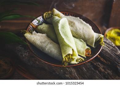 Roti Samai, Thai Dessert