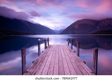 Rotoiti Lake - Nelson Lakes National Park, New Zealand