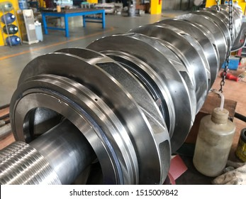 Rotor of BB3 pump casing, multistage pump,