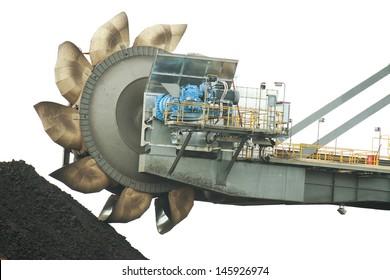 the rotor wheel excavator