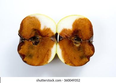 Rotten apple. bad apple